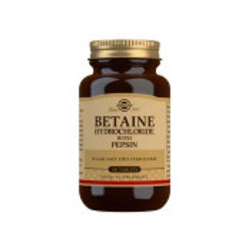 SOLGAR Betaine Hydrocloride med Pepsin 100 st