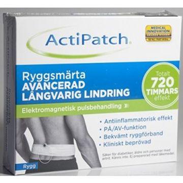 ActiPatch Smärtlindringsenhet Rygg 1 styck