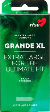 RFSU Grande XL Extra rymliga kondomer 15 st