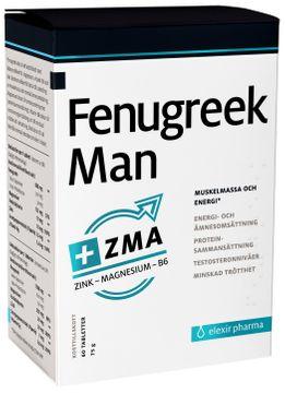Elexir Pharma Fenugreek Man Kosttillskott. 60 st