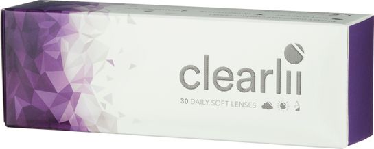 Clearlii Daily +3.00 Endagslins, 30 st
