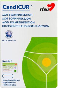 RFSU Candicur Vaginaltabletter, 10 st