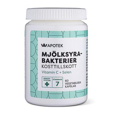 Kronans Apotek Mjölksyrebakterier Vegetabiliska kapslar, 60 st