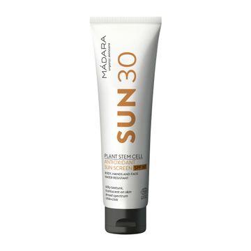 Mádara Plant Stem Cell Antioxidant Sunscreen SPF 30 Solskydd. 100 ml