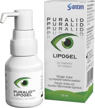 Puralid Lipogel Gel vid blefarit, 15 ml