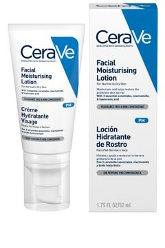 CeraVe Facial Moisturizing Lotion PM Ansiktskräm, 52 ml