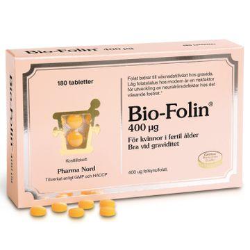 Pharma Nord Bio-Folin 400 mg Tabletter, 180 st