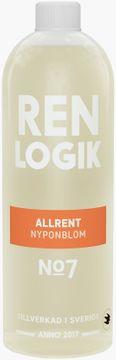 REN LOGIK Allrengöring Nyponblom 750 ml
