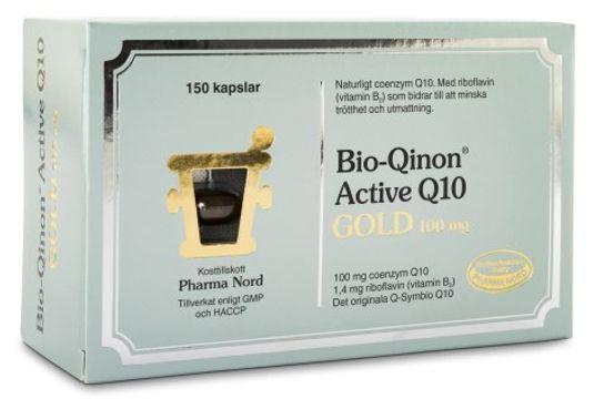 Pharma Nord Bio-Qinon Active Q10 Gold 100 mg Kapslar, 150 st
