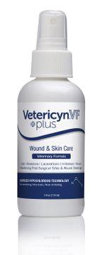 Vetericyn Plus VF Wound & Skin Care Spray för sårbehandling hos djur, 118 ml