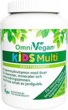OmniVegan KIDS Multi Kosttillskott 80 tab