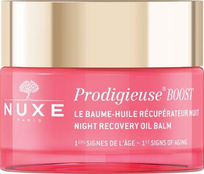 Nuxe Night Recovery Oil Balm Créme Prodigieuse Boost. Nattbalsam. 50 ml