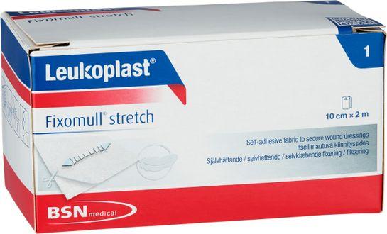 Leukoplast Fixomull Stretch Fixeringsförband, 10 cm x 2 m, 1 st