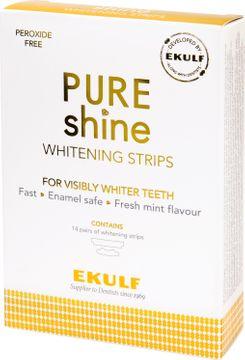 EKULF PURE shine Whitening strips, blekningsremsorna 14 st