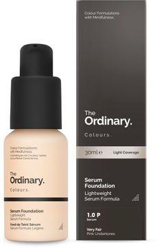 The Ordinary Serum Foundation 1.0 P 30ml