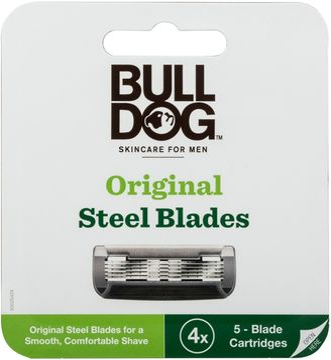 Bulldog Original Steel Blades 4 st