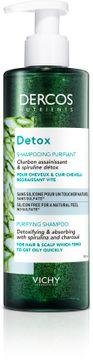 Vichy Dercos Nutrients Detox Sh 250 ml