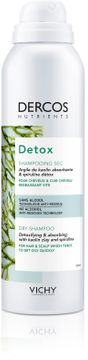 Vichy Dercos Nutrients Detox Dry Shampoo Torrschampo, 150 ml