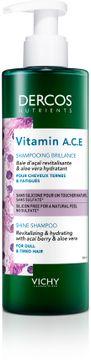 Vichy Dercos Nutrients Vitamin Shampoo Schampo, 250 ml