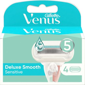 Venus Extra Smooth Sensitive Rakblad. 4 st