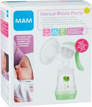MAM Manual Breast Pump Bröstpump, 1 st