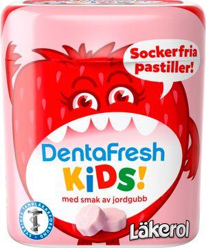 Läkerol DentraFresh Kids Strawberry 55g