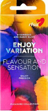 RFSU Enjoy Variation Latexkondomer, 8 st
