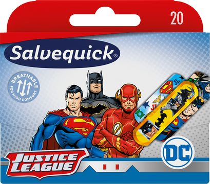 Salvequick Justice League Barnplåster, 20 st
