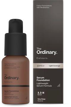 The Ordinary Serum Foundation 3.3 N 30ml