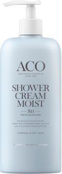 ACO Body Shower Cream Moist Duschkräm, 400 ml