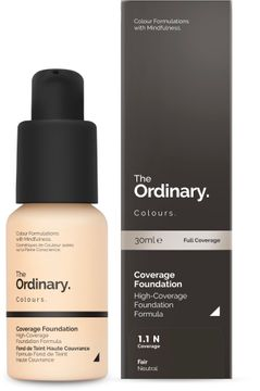 The Ordinary Coverage Foundation 1.1 N 30ml