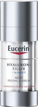 Eucerin Eucerin Hyaluron-filler Night Peeling Ansiktspeeling och serum, 30 ml