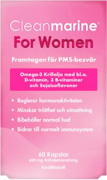 Cleanmarine For Woman Kosttillskott för PMS-Besvär