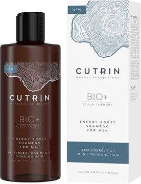 Cutrin BIO+ Energen Boost Shampoo for Men Schampo, 250 ml