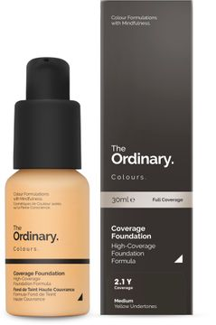 The Ordinary Coverage Foundation 2.1 Y 30ml