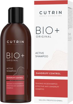 Cutrin BIO+ Original Active Shampoo Schampo, 200 ml