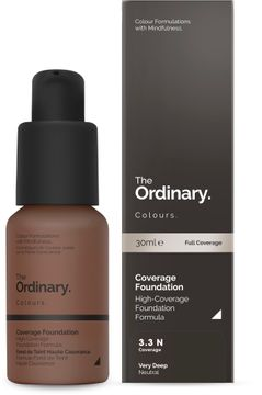 The Ordinary Coverage Foundation 3.3 N 30ml