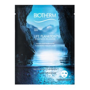 Biotherm Essence-In-Mask Life Plankton, Ansiktsmask, 1 st