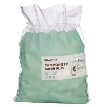 Kronans Apotek Tamponger Super Plus Tampong, 100 st
