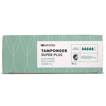 Kronans Apotek Tamponger Super Plus Tampong, 16 st