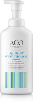 ACO Minicare Wash Mousse Kroppsrengöring för barn, 200 ml