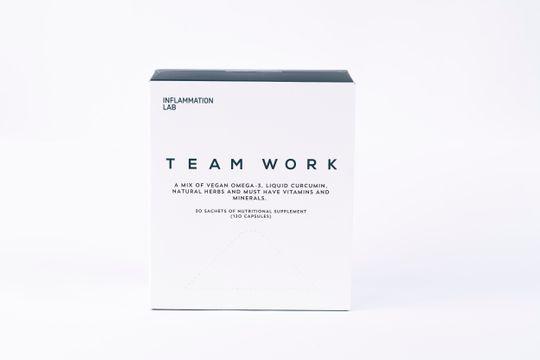 Inflammation Lab Team Work Team Work Kosttillskott 120 kaps