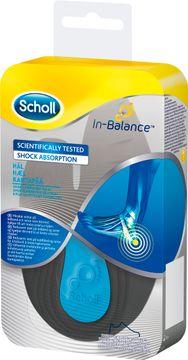 Scholl In-Balance Pain Relief Hälinlägg. Storlek L. 1 par.