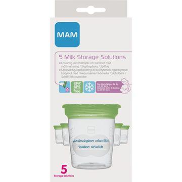 MAM Milk Storage Solutions 5-p