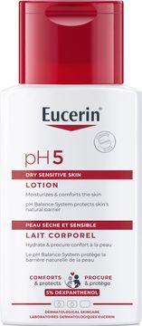 Eucerin Lotion Travel Size Hudkräm, parfymerad, 100 ml