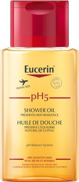 Eucerin pH5 Shower Oil Travel Size Duscholja, 100 ml