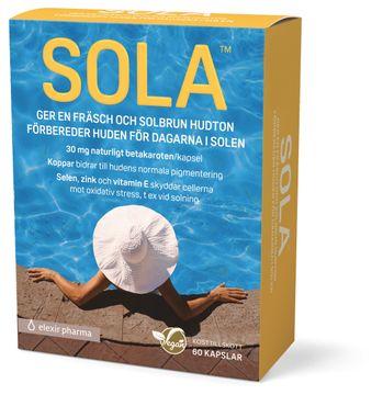 SOLA Elexir Pharma Betakaroten 60 kapsl