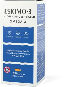 Eskio-3 High 65% Omega-3 Kapslar, 120 st