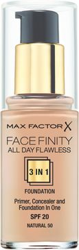 Max Factor Facefinity All Day Flawless Foundation 50 Natural