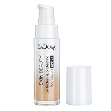 Isadora Skin Beauty Perfecting & Protecting Foundation 04 Sand